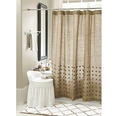 shower curtains on pinterest shower curtains burlap ballard designs shower curtain knock off amp hardware update