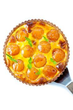 Apricot, Cardamom & Orange Blossom Tart