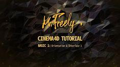 Cinema 4D tutorial_Basic1_Orientation&Interface1 (시네마4D 기초강좌_1강_소개 및 인터페이스1) - YouTube