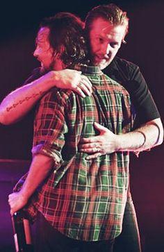 Oh I love Josh. And I love Josh hugging Eddie.