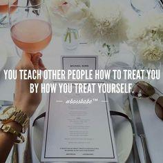 Yep! What you allow, you encourage.