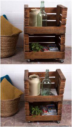 Mejores 40 Imagenes De Muebles Con Cajas De Fruta En Pinterest - Cajas-de-fruta-recicladas