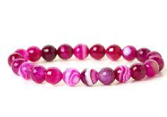 naramok-achat-ruzovy-fazetovany-8mm Bracelets, Jewelry, Fashion, Moda, Jewlery, Jewerly, Fashion Styles, Schmuck, Jewels