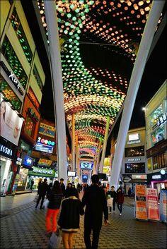 Daejeon, South Korea Daejeon, Amazing Places, South Korea, Seoul, The Good Place, Times Square, Vacation, Design, World