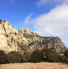 MUERO POR VIAJAR: Senderismo en la montaña de Montserrat (Barcelona)
