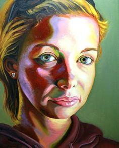 "Saatchi Art Artist miae cho; Painting, ""Erin"" #art"