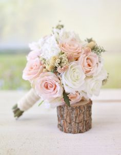 Silk Bridal Bouquet | $49.99