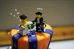 bride.ca | Whimsical DIY Caketopper Idea: LEGO!