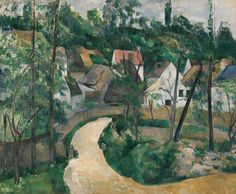 Paul Cezanne Turn In The Road