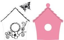 Marianne Design Collectables - Bird House Flowers