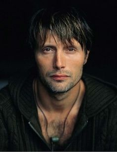 Mads Mikkelsen - Has one of the most interesting faces. He is a perfect Hannibal.