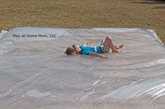 Giant Outdoor Waterbed - summer fun