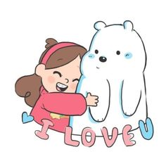 Mabel Pines,crossover,we bare bears, gravity falls Ice Bear We Bare Bears, We Are Bears, We Bear, Dipper Et Mabel, Mabel Pines, Desenhos Cartoon Network, Desenhos Gravity Falls, We Bare Bears Wallpapers, Cartoon Crossovers