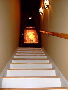 upstairs movie room?