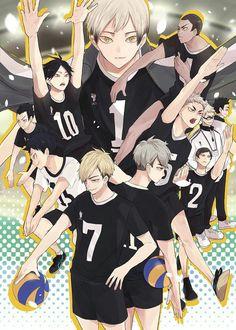 Inarizaki-- another set of my adopted babies Haikyuu Karasuno, Haikyuu Funny, Haikyuu Manga, Haikyuu Fanart, Kagehina, Haikyuu Volleyball, Volleyball Anime, Manga Anime, Anime Guys