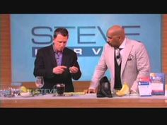 Bruce Lubin on the Steve Harvey Show - tips and tricks like using banana peel to whiten your teeth, getting lipstick off a glass, why to use teabags on your eyes, and more
