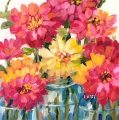 """Daily+Paintworks+-+""""Loves+Sun""""+-+Original+Fine+Art+for+Sale+-+©+Libby+Anderson"""