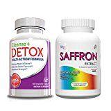Weight Loss Pills  Saffron Extract & Cleanse & Detox-Weight Loss Supplement
