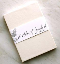 PAPER: wedding invite box