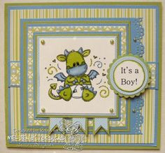 Meljens Design Team and Challenge Blog: DT Day With Robin - Its A Boy!