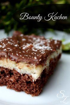 Recipe for bounty cake - No Bake Desserts Chocolate Sweets Cake, Cupcake Cakes, Bounty Cake, Baking Recipes, Cake Recipes, Sweet Bakery, Cake Cookies, No Bake Cake, Sweet Recipes