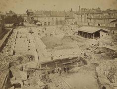 Jules-Alphonse Terpereau, Étape de construction de la faculté de médecine et de pharmacie de Bordeaux, entre 1880 et 1886. (8)