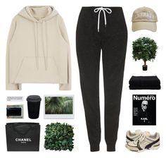 """Untitled #990"" by theonlynewgirl ❤ liked on Polyvore featuring Topshop, Chanel, Moore & Giles, Brucs, adidas and Home Source International"