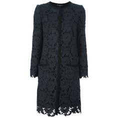 DOLCE & GABBANA Lace coat