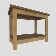 2x4 Workbench