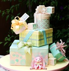 Crafty class with Marina Sousa - cake for baby shower