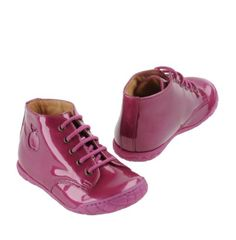NEW-Pom-d-039-Api-Boots-US-4-European-19-Fuchsia-NEW-WITH-BOX-booties-Adorable-Shoes