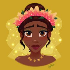 Disney Flower Power : Tiana