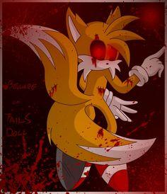 Tails Doll Pokemon Z, Tails Doll, Echii Anime, Pasta Art, Sonic Fan Characters, Jeff The Killer, Sonic Art, Fox Art, Creepy Art
