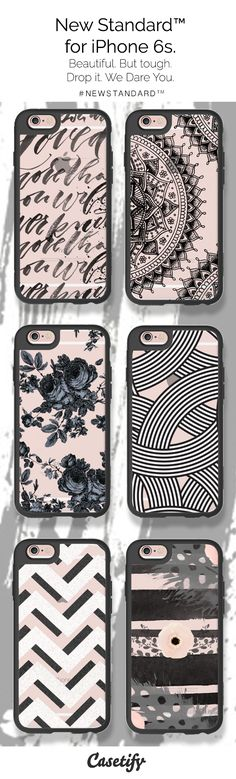 Life is short. Let's do this. Pre-order these New Standard phone cases, perfect for your iPhone 6S - $39.95 http://www.casetify.com/artworks/wDG8K3fv6u