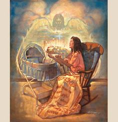 A Gift From God (Mother With New Baby) by Ron DiCianni   Christian Art - Christian Framed Prints   Tapestry Productions