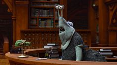 Monsters University Librarian