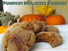 Vegan Pumpkin Molasses Cookie Recipe