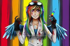 Rainbow Factory by Nasuki100.deviantart.com on @deviantART
