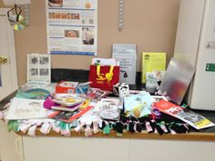 Items given away at the #VRRF Children's Low Vision Resource Center (#CLVRC)