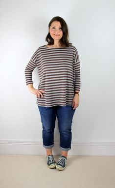 Mandy Boat Tee from Tessuti Fabrics Free Sewing Pattern Review