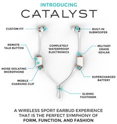 The best wireless sport earbuds ever. Built-in Subwoofer, Custom Fit, Waterproof, 15hr Battery | Crowdfunding is a democratic way to support the fundraising needs of your community. Make a contribution today!