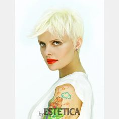 Capelli Donna, Corti, Biondo, rock - Tagli Capelli - Moda Capelli: tagli e acconciature by Estetica