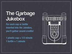 Garbage Jukebox - Gamification idea by Fransisco Morgado Véstia