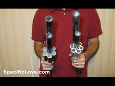 PVC Revolver Blowgun Marshmallow Gun Homemade DIY -[Watch Video]- Today I introduce this Awesome PVC Revolver Marshmallow Gun. It is made entirely out of PVC pipe and cement. You turn the barrels by hand to align the pipes for shooting. The faster you turn the barrels, the faster you can shoot.   https://www.youtube.com/watch?v=PBONyamoRag   www.specificlove.com