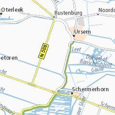 Kaart van De Goorn- plattegrond van De Goorn- ViaMichelin