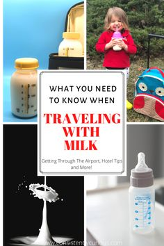 Traveling With Milk For Toddler Tips for taking milk on a road trip, in the airport or in a hotel! Best Vacations, Vacation Destinations, Love Dairy, Small Cooler, Milk Alternatives, Bottle Warmer, Hotel Staff, Toddler Travel, Travel Tips