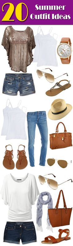 Fun in the Sun - 20 Summer Fashion Outfit Ideas