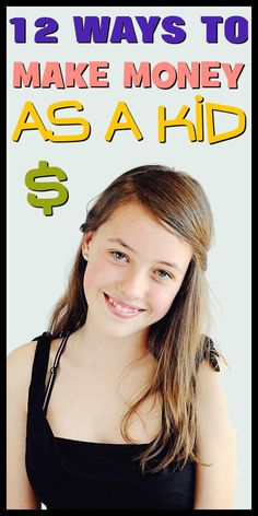 WAYS TO MAKE MONEY FAST AS A KID OR TEENAGER. From: DavidStilesBlog.com
