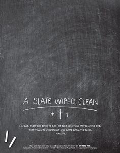 A Slate Wiped Clean