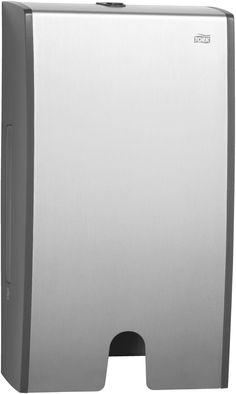 NOU! Dispenser Tork Aluminium pentru prosoape de hartie, design slim.
